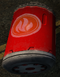 Red explosive barrel