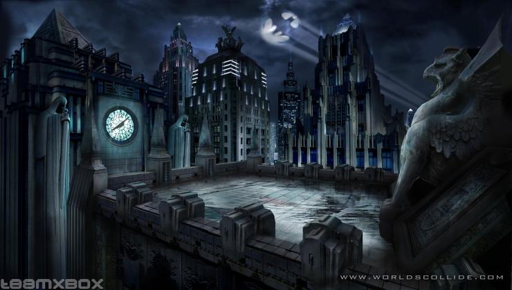 Готэм — Вселенная DC вики