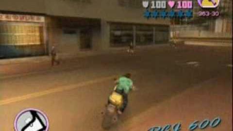 GTA Vice City Walkthrough 29 - Big Bakers Bike