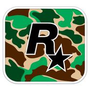 Rockstar Tarnfarben Logo