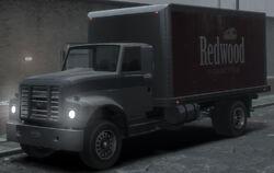 Der Yankee mit Redwood-Bedruck