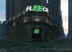 Ein Firmensitz von Fleeca in Exchange, Algonquin