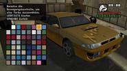 GTA SA Tuning Sultan Lack3 Gelb