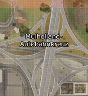Mulholland-Autobahnkreuz-Karte, SA.png