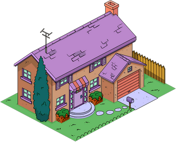 Evergreen Terrace 740 Ned Flanders Haus Simpsons Wiki