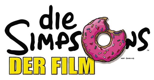Datei:Die Simpsons – Der Film logo.jpg