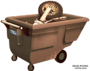 Dead rising Utility Cart