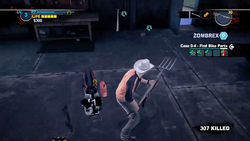 Dead rising 2 case 0 handle bar returning