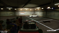 Dead rising maintence tunnel paradise plaza white car 2