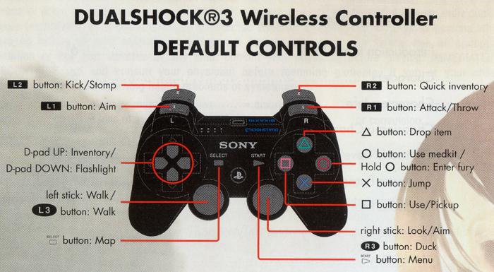 Dead Island Analog Controls Xbox