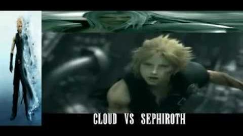 video advent children complete english dub cloud vs. Black Bedroom Furniture Sets. Home Design Ideas