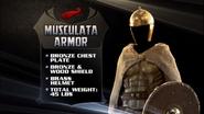 Musculata armor