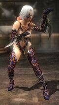 DOA5LR costume Fighter Force Christie
