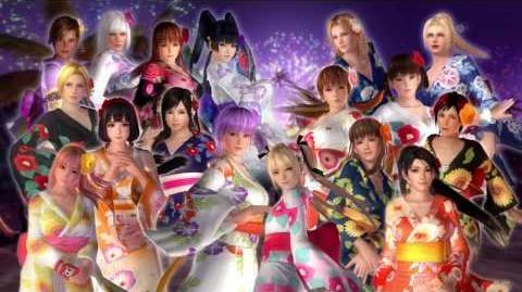 『DEAD OR ALIVE 5 Last Round』「ハッピー浴衣コスチューム」紹介ムービー