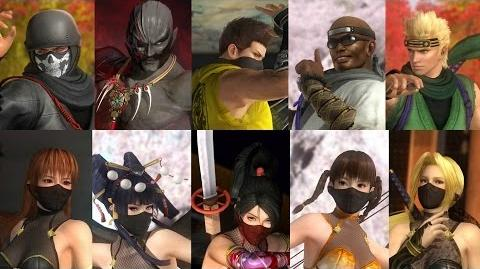 DEAD OR ALIVE 5 Last Round - Ninja Clan 2 Costume Trailer