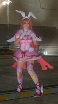 DOA5LR Tatsunoko Mashup Honoka Costume
