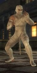 DOA5U Hayabusa Halloween Screen