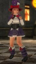 DOA5LR HALLOWEEN 2015 Costume Honoka