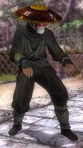 DOA5LR costume Ninja Clain VOL1 Gen Fu