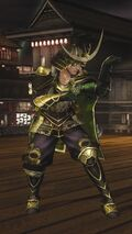 DOA5LR Samurai Warriors Costume Christie