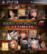 DOA5U PS3 Cover EU