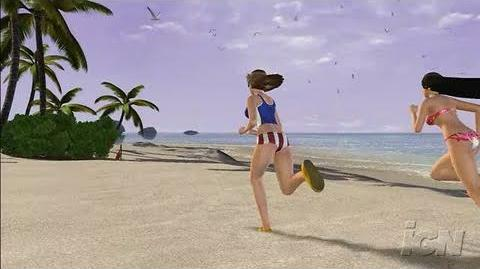 Dead or Alive Xtreme 2 Xbox 360 Gameplay - Flag Race