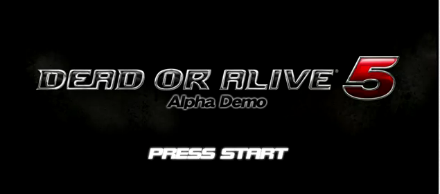 File:DOA5 Demo Title.png