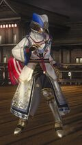 DOA5LR Samurai Warriors Costume Lisa