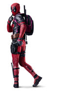 Textless Deadpool Poster