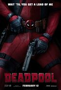 Deadpool Theatrical Poster