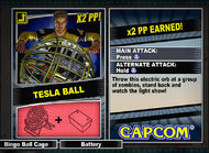 Dead rising 2 combo card Tesla Ball