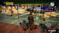 Dead rising al fresca plaza chair parasol