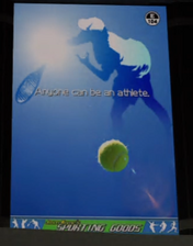 Jason Wayne's Sporting Goods Ad