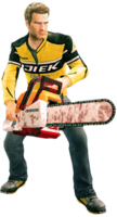 Dead rising chainsaw (dead rising 2) holding