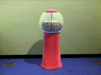 Dead rising gumball machine moved in kids