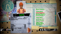 Dead Rising terri notebook