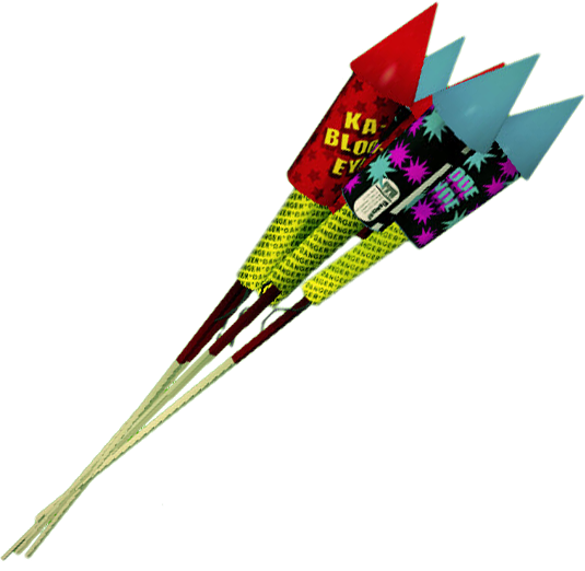 how to use bottle rocket fireworks
