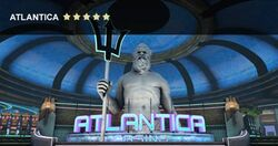 Antlantics statue