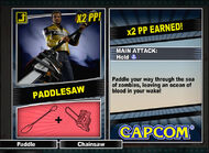 Dead rising 2 combo card Paddlesaw