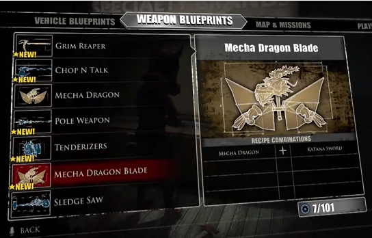 Laser sword blueprint dead rising 4 dead rising 3 laser sword image mecha dragon blade dead rising malvernweather Images