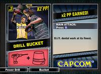 Dead rising 2 combo card Drill Bucket
