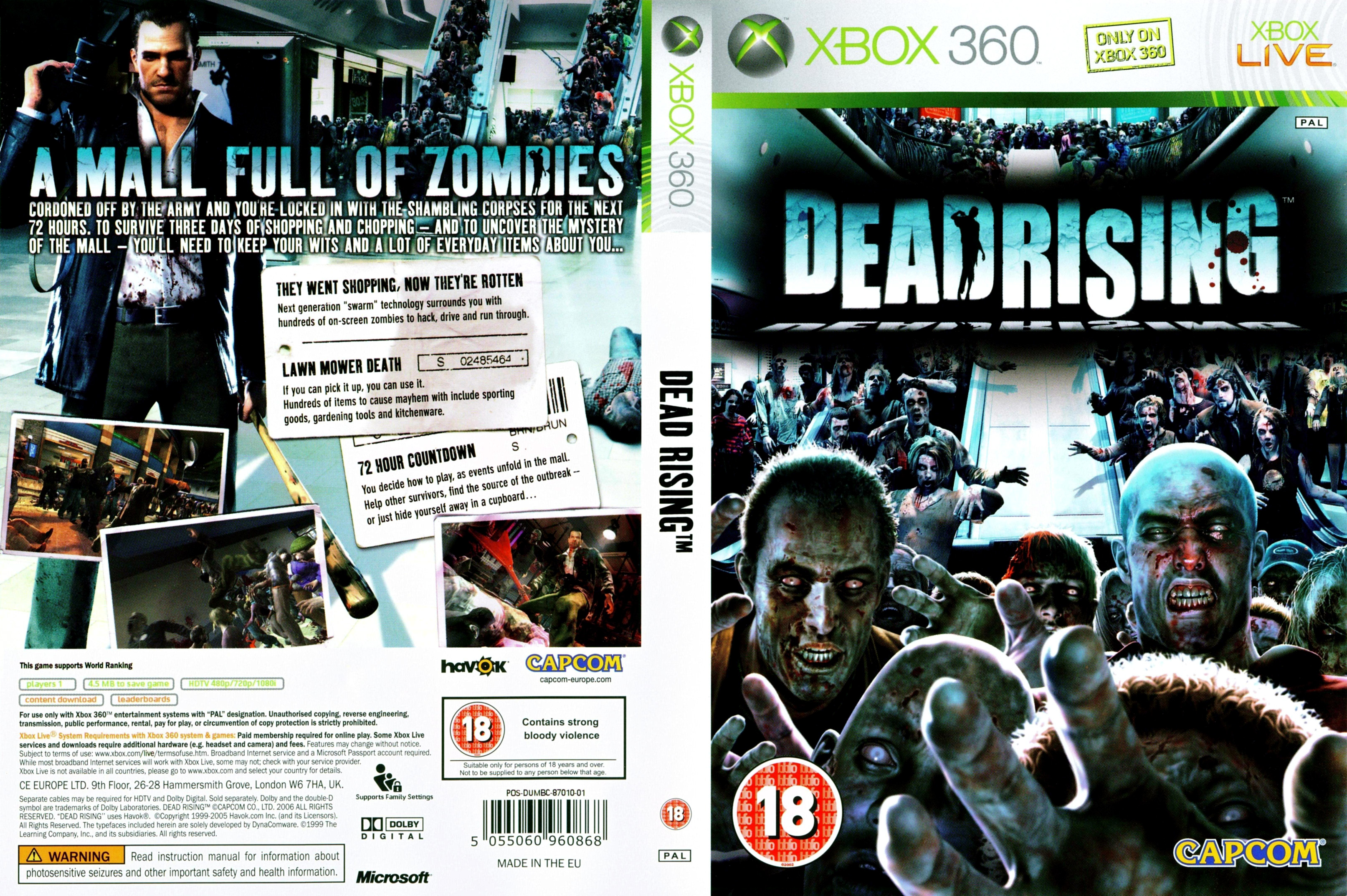 Dead Rising Pictures Dead Rising Pal Cover