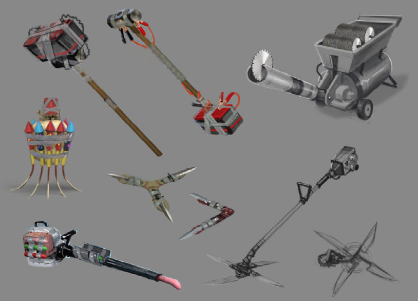 dead rising 3 weapon list - photo #25