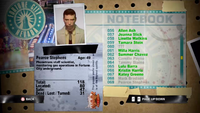 Dead Rising pearce notebook
