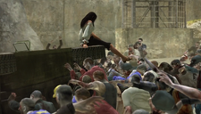 Isabela Fights off Zombies