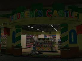 Children's Castle Sign