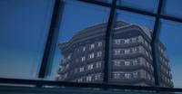 Dead rising Royal Flush Plaza skyrise through skylight