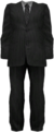Dead rising Grey Business Suit with Striped Tie