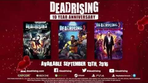 Dead Rising - 10th Anniversary Remaster Announcement Trailer