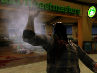 Dead rising zombies burnt by frying pan (5)